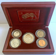 1963 Proof Set In Official U.s. Mint Display Silver Uncirculated Birthyear Coins