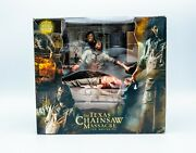 Texas Chainsaw Massacre The Beginning House Of Horror Set From Neca New, Mint