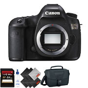 Canon Eos 5ds Dslr Camera Body Only + 64gb Memory Card Bundle068