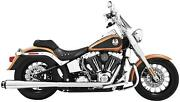 Freedom Performance American Outlaw Dual Exhaust System-chrome Body W/ Black