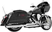 Freedom Performance Union 2-into-1 Exhaust System - Chrome With Chrome Tip -