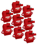 Msd Ignition Gm Ls Series Coils - 8 Ls-1/6 82858