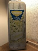 Vintage Toms Toasted Nuts Thermometer Sign Advertising