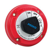 Perko Medium Duty Battery Disconnect Shut Off/on - 250 Amp Continuous 12-32v...