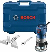 Bosch Gkf125cek-rt Colt 1.25 Hp Max Variable-speed Palm Router Kit W Edge Guide