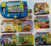 Leapfrog My First Leappad Learning System W/ 7 Books And Cartridges + 2 Cartridges