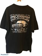 Gun Runners T Shirt Mens Side Action Apparel Whiskey Drink Bullets Protect 420