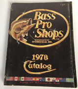1978 Bass Pro Catalog Old Fishing Lure Old Fishing Tackle Hard To Find