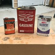 Antique Oil Cans And Lubricants
