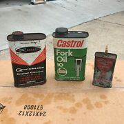 Old Antique Oil Cans And Lubricants