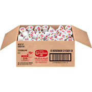 Nestle Carnation Coffee Creamer Half And Half, Made With Real Dairy, Box Of 180