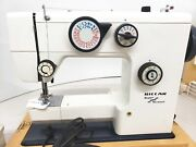 Riccar Household Sewing Machine W/27 Cams And Pedal