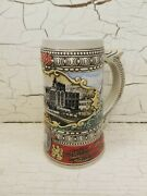 Limited Edition Rare Coors Beer Stein Hand Crafted Adolph Coors Brewery 1988