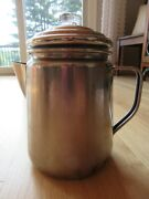 15n/coleman Coffee Percolator/stainless Steel/stovetop/camping Coffee Maker