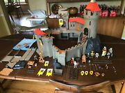Playmobil 4865 Knight Castle Lot Of Pieces And Accessories