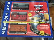 Usa Trains G Gauge Lgb 1 R72303 Southern Pacific Nw-2 Set 4 Ft X 5 Ft In Box