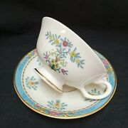 ❤ Lenox Blue Tree Cup And Saucer Set