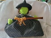 2009 North American Bear Co. Topsy Turvy Good Witch/bad Witch 2094 ☆ Preowned