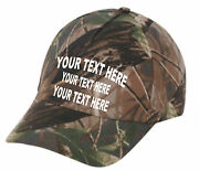 Cap Hat Custom Camo Hound Personalized Coon Dog Business Kennel Name By Dozen