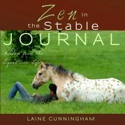 Zen In The Stable Journal Large Journal Lined 8. 5x8. 5