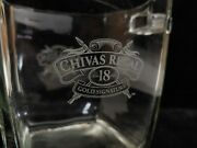 Chivas Regal 18 Year Old Whiskey Gold Signature Champagne Ice Bucket Vintage