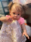 Maggi By Natali Blick, Sole, Reborn Baby Doll, Reborn Toddler, Rooted Hair
