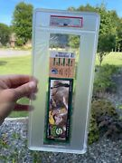 2008 Seattle Supersonics Final Home Game Ticket Psa 3 April 13 Nba Kevin Durant