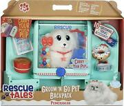 Little Tikes Rescue Tales Groom 'n Go Pet Backpack With Plush Pomeranian Playset