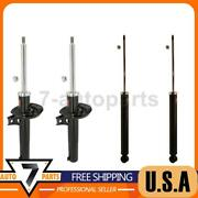 Excl-g 4x Kyb Front Rear Shock Absorber Struts Fit 2011 Volkswagen Jetta