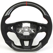 The New Design Carbon Fiber Steering Wheel Fit For 2010- 2017 Ford Focus St/rs