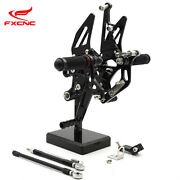 Cnc Rearset Foot Pegs Rest Pedals For Yamaha Fz1 2006-2016 Fz8 2010-2013 2012