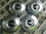 Vintage Ford Galaxie Pickup Truck Hubcaps Wheel Covers Center Caps Fomoco