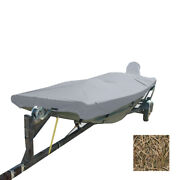Carver Performance Poly-guard Styled-to-fit Boat Cover F/16.5and39 Open Jon B...