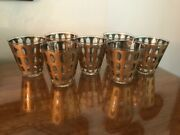Vintage Culver Pisa Low Ball Old Fashioned Glassware - Set Of 7