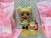 Lol Surprise Gold Queen Bee Doll And Accessories All Pkgs Completely Sealed