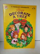 Vintage 1982 Whitman The Ginghams Decorate A Tree Christmas Pop Out Book