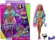 Barbie Extra Doll 10 In Floral-print Jacket And Jogger Set New 2021