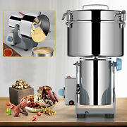 High-speed Commercial Electric Stainless Steel Grain Grinder Mill Spice Herb New