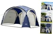Easy Beach Tent Camping Sun Shelter Backyard Canopy Easy Up 12x12ft Navy Blue
