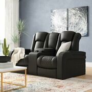 75'' Wide Power Recliner Home Theater With Cup Holder
