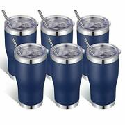 Vegond 20oz Stainless Steel Tumblers Bulk Tumbler Cup With Lid And Straw Vacu...