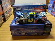 Jimmie Johnson Action 2002 48 Loweand039s Power Of Pride Rookie 124