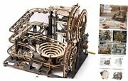 Marble Run 3d Wooden Puzzle Model Kits Mechanical Building Kit For Teens And