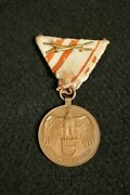 Wwi Imperial Austria Hungary Military War Commemorative Medal Combatant Early