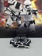 Hot Toys First Order Stormtrooper Mms335 Blaster Rifle W/ Collapsible Stock Only