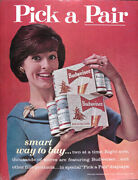 1963 - 1964 Budweiser Beer Lot Of 4 Genuine Vintage Ads Free Shipping