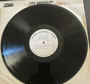 1968 Led Zeppelin Test Pressing/ Advance Copy Of First Lp Super Rare