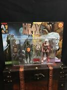 Heavy Metal 300th Issue Commemorative Taarna And Nelson 5 Inch Figbiz Figure Set