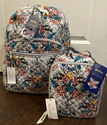 Vera Bradley And Harry Potter Herbology Campus Backpack And Lunch Bunch Bag - Exact