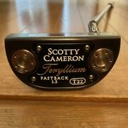 Scotty Cameron Trelium T22 Fastback 1.5 With Head Cover 34 Inches